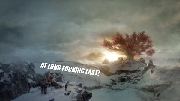 The Tree, Bran, Hodor, Summer