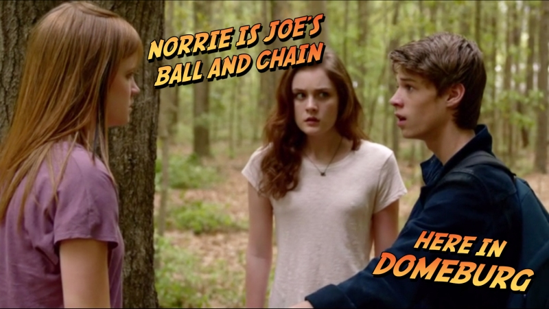 Norrie is Joe's Ball N Chain, Here in DomeBurg.
