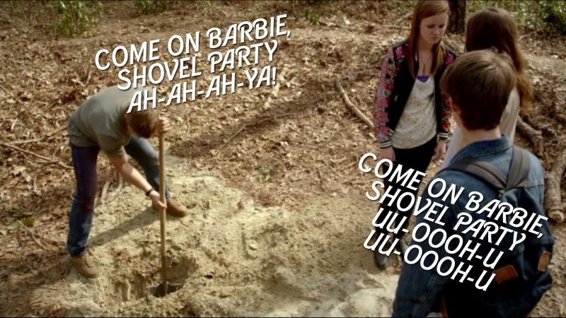 COME ON BARBIE, SHOVEL PARTY UU-OOOH-U UU-OOOH-U