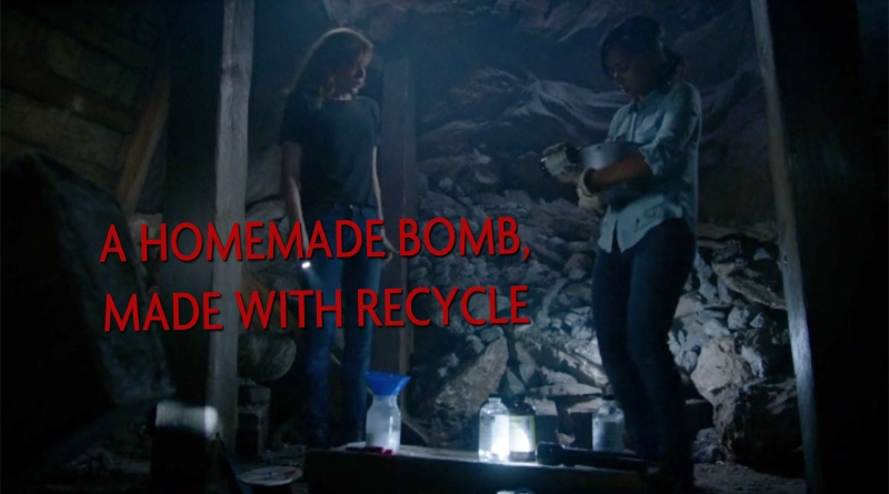 A Homemade Bomb, made with recycle.