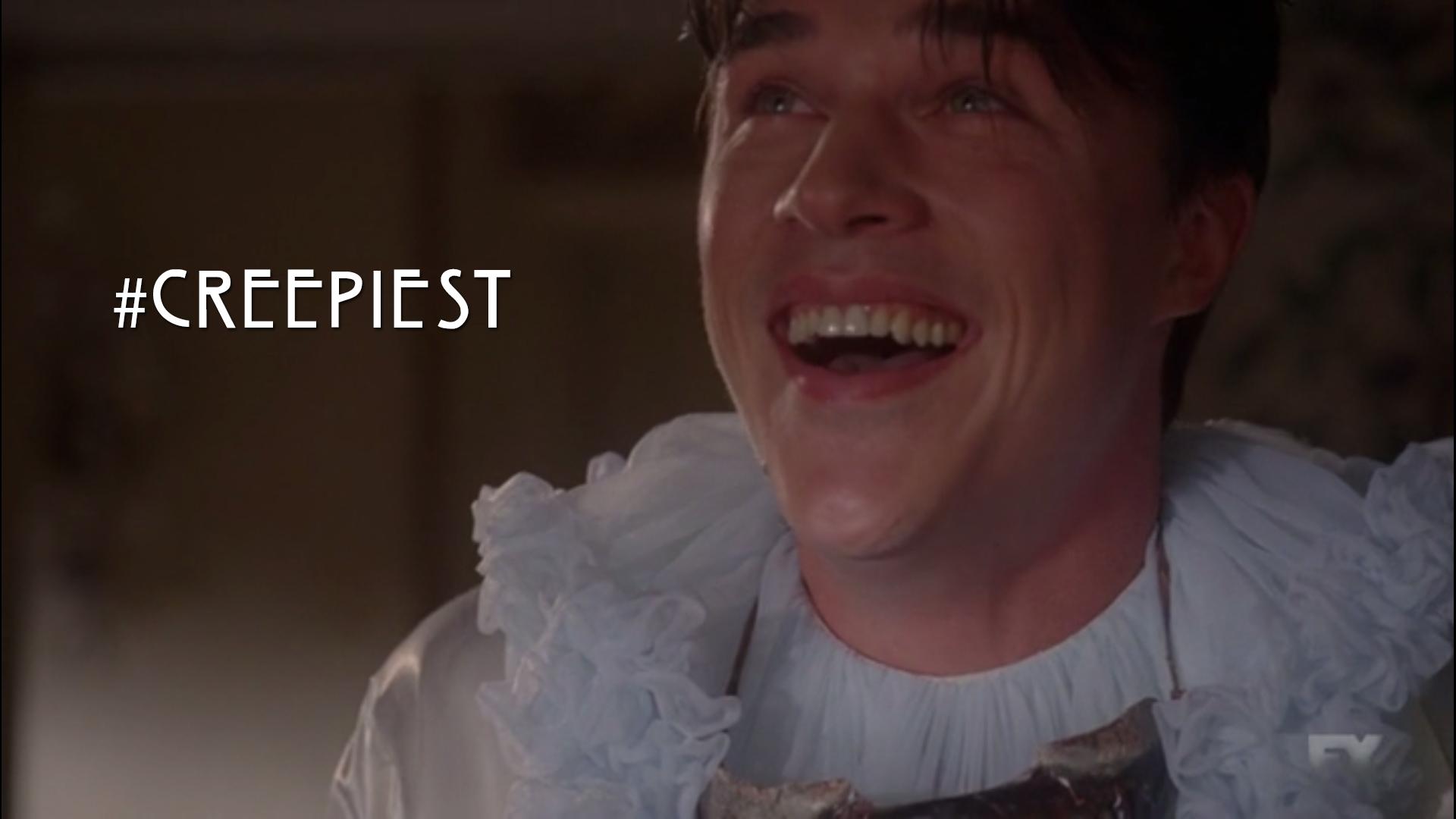 Evan Peters Dancing Gif Creepiest Smile Ever Dandy