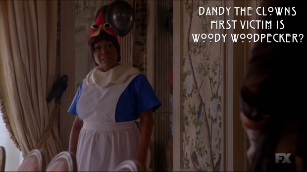 Dandy the Clown's First Victim is Woody Woodpecker?