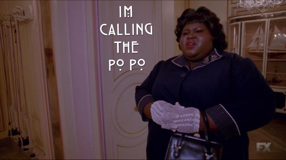 im calling the popo