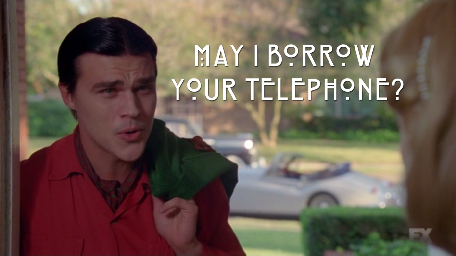 May I Borrow Your Telephone?