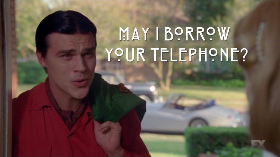 May I Borrow Your Telephone?