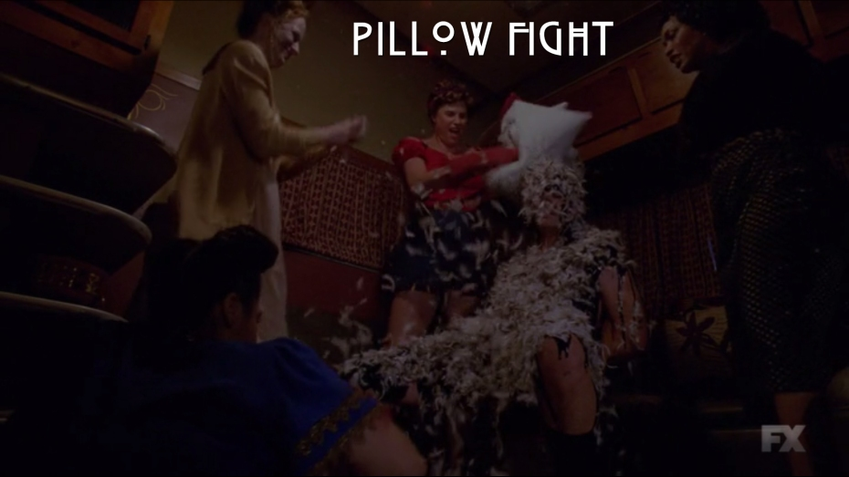 pillow fight ahs