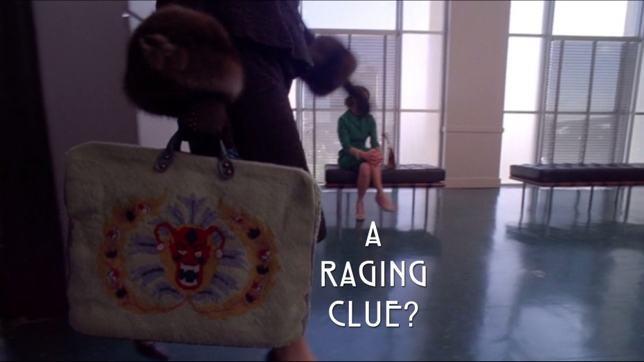 A raging clue?