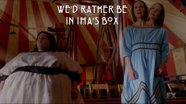 We'd rather be in Ima's box.