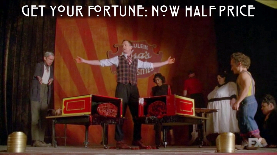 Get your fortune...now half price.