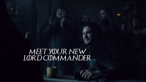 The New Lord Commander