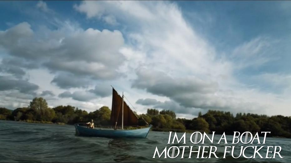 I'm on a Boat Motherfucker