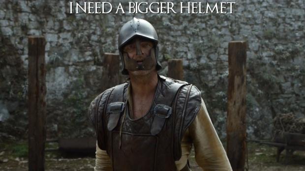 I Need A Bigger Helmet