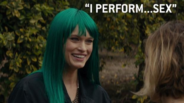 """""""I perform...sex"""""""