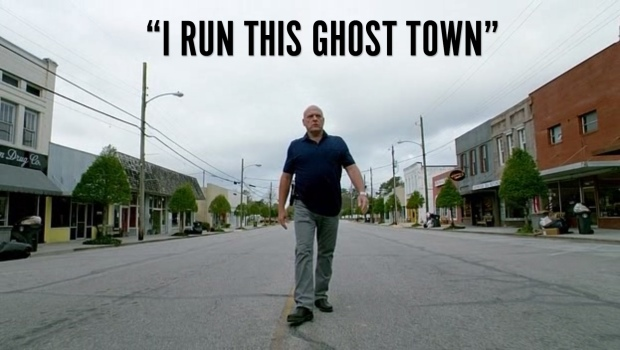 I run this ghost town.