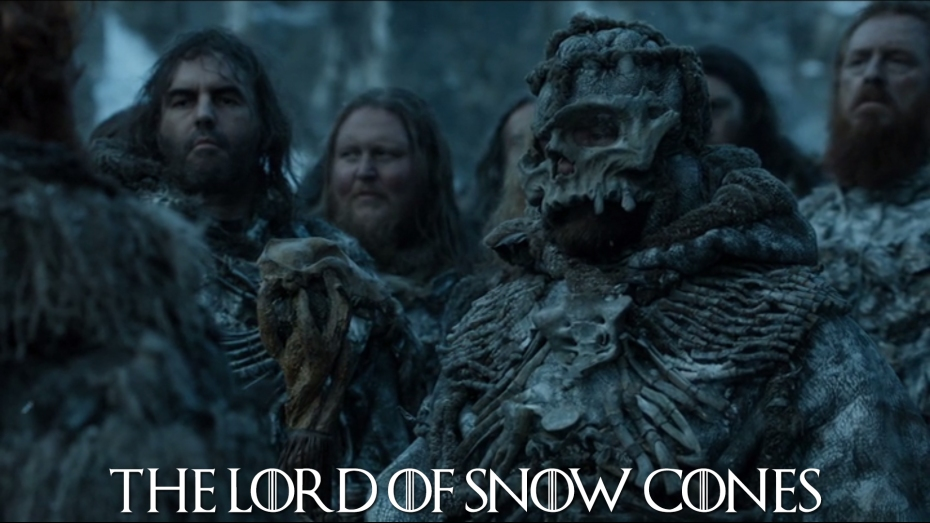 The Lord of Snow Cones