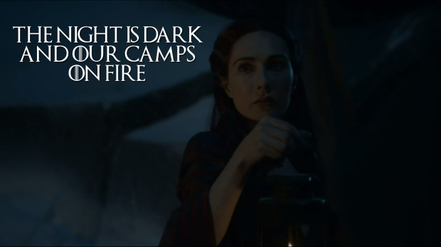 The Night is Dark and our Camps on Fire