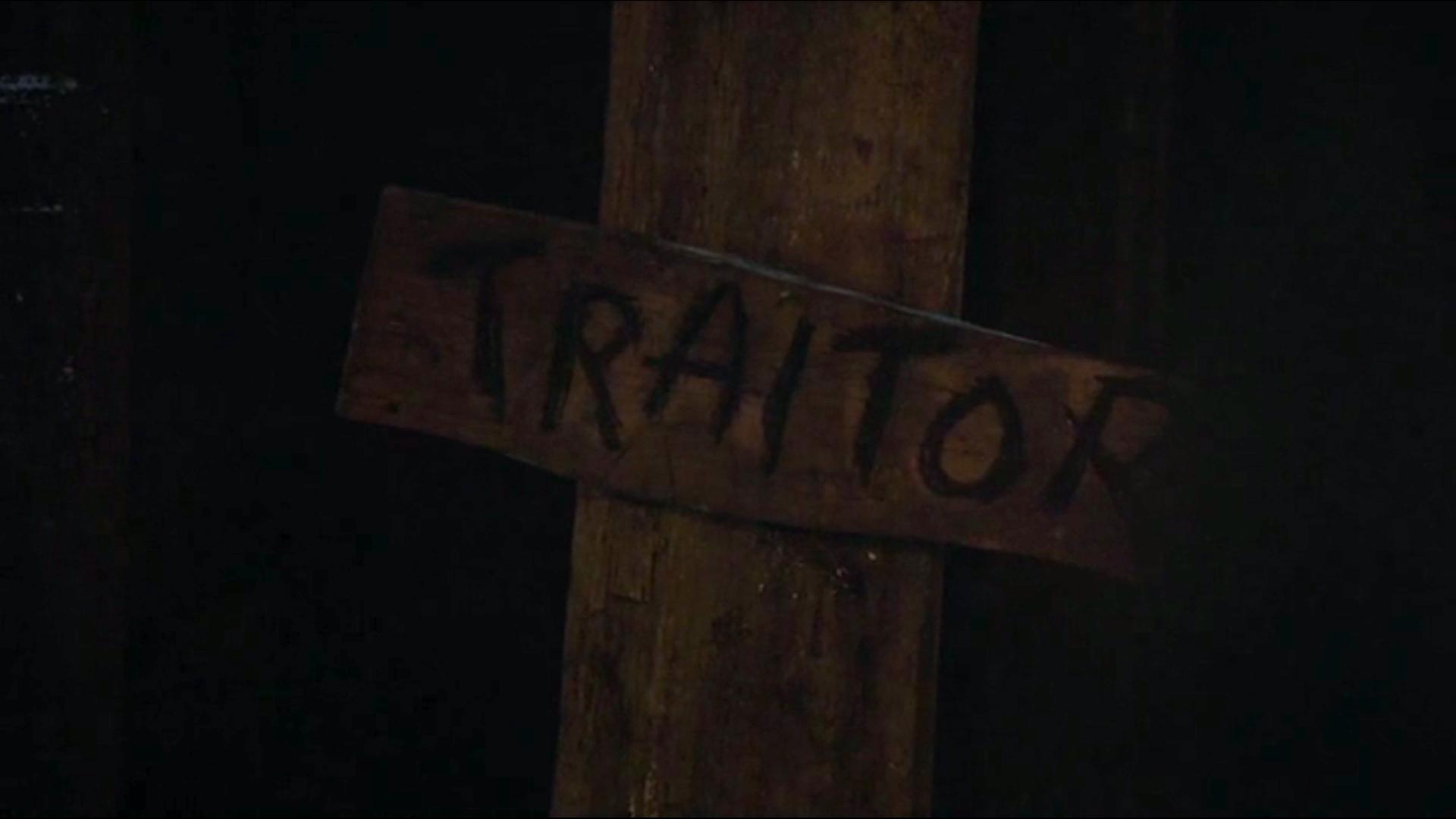 Description rôles, espèces...  Traitor