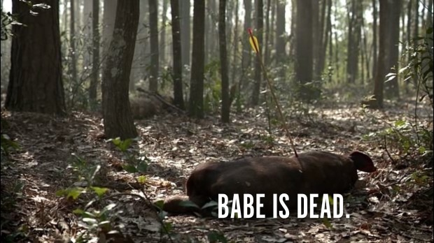 Babe is dead.