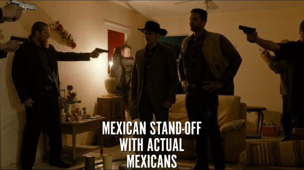 Mexican Stand-off with actual Mexicans
