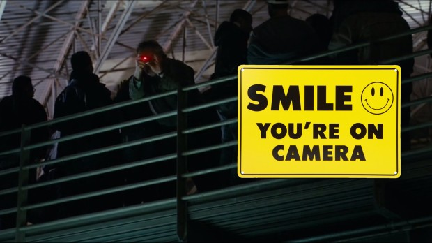 Smile, you're on camera.