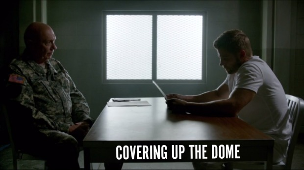 Covering Up The Dome