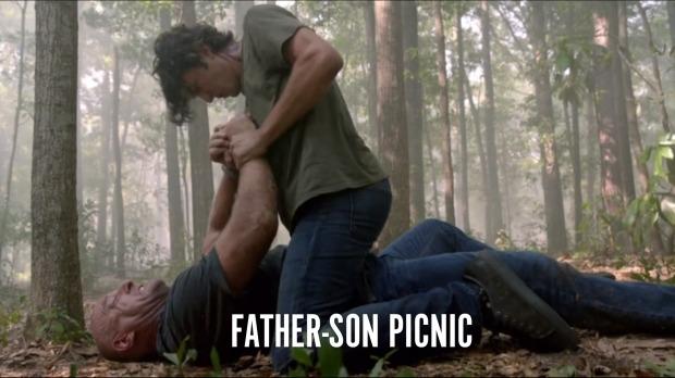 Father-Son Picnic
