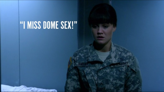 """I miss dome sex."""