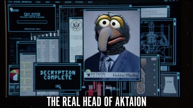 The Real Head of Aktaion