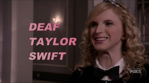 Deaf Taylor Swift