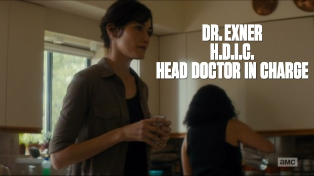 Dr. Exner H.D.I.C. Head Doctor in Charge