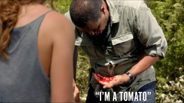 I'm a tomato