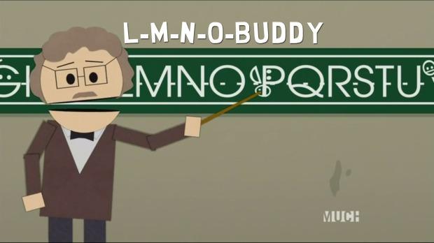 L-M-N-O-Buddy