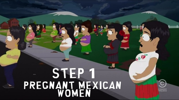Step 1: Pregnant Mexican Women