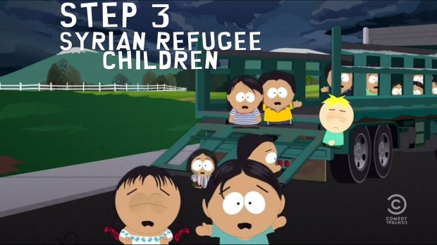 Step 3: Syrian Refugee Children
