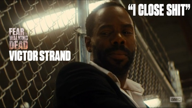 Victor Strand 'I Close Shit'